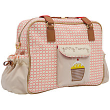 Buy Pink Lining Yummy Mummy Red Hearts Print Changing Bag, Multi Online at johnlewis.com