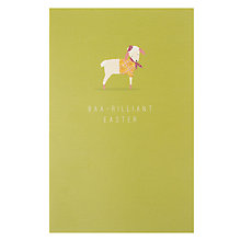 Buy Art File Baa-rilliant Easter Card Online at johnlewis.com