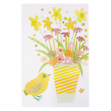 Buy Mint Spring Chick Easter Card Online at johnlewis.com