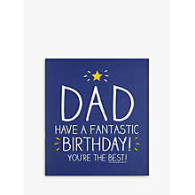 Buy Pigment Dad You're The Best Card Online at johnlewis.com