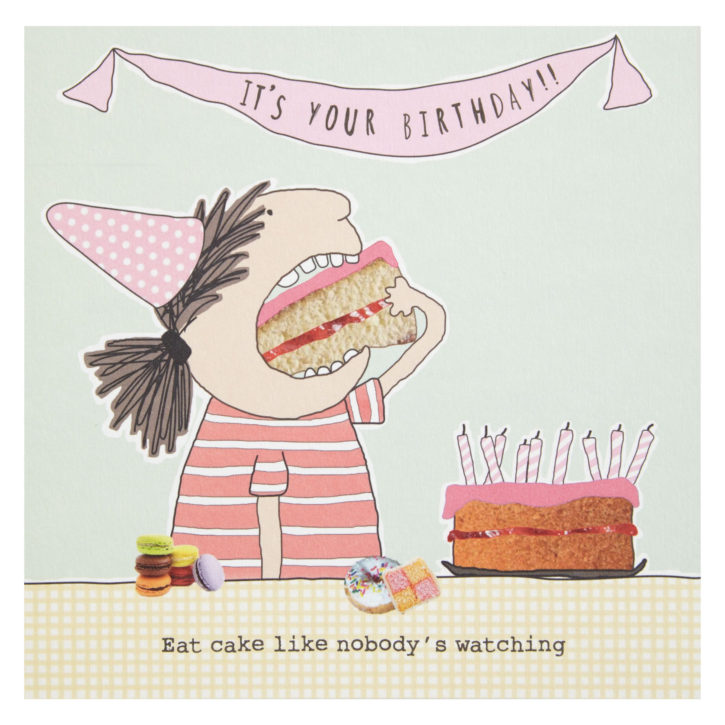 Birthday Cake John Lewis : Buy Rosie Made A Thing Eat Cake Birthday Cake John Lewis