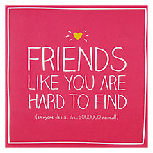 Buy Pigment Friends Forever Card Online at johnlewis.com