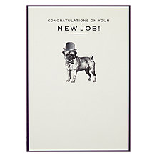 Buy Pigment New Job Pug Card Online at johnlewis.com