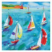 Buy Woodmansterne Sailing Through Birthday Card Online at johnlewis.com