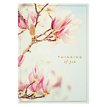 Buy Pigment Thinking Of You Blossom Greeting Card Online at johnlewis.com