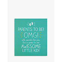 Buy Pigment Parents To Be Omg Card Online at johnlewis.com