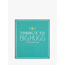 Buy Pigment Thinking of You Big Hugs Card Online at johnlewis.com