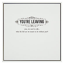 Buy Pigment We Need To Talk Leaving Card Online at johnlewis.com