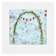 Buy James Ellis Stevens, Wedding Arch Shakies Card Online at johnlewis.com