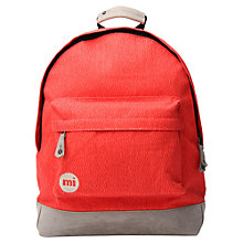 Buy Mi-Pac Elephant Skin Backpack, Red Online at johnlewis.com