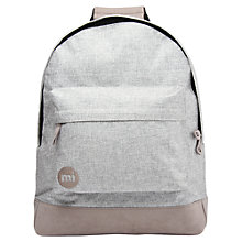 Buy Mi-Pac Crepe Backpack, Grey Online at johnlewis.com