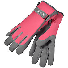 Buy Sophie Conran by Burgon & Ball Everday Gloves, Raspberry Online at johnlewis.com