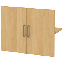 Buy John Lewis Connie Wide Wooden Doors x 2, Oak Online at johnlewis.com