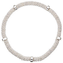 Buy John Lewis Effer Ring Stretch Bracelet, Silver Online at johnlewis.com