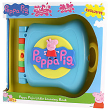 Buy Peppa Pig Learning Book Online at johnlewis.com