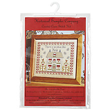 Buy Historical Sampler There's No Place Like Home Cross Stitch Kit, Multi Online at johnlewis.com