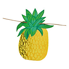 Buy Talking Tables Pineapple Bunting Online at johnlewis.com