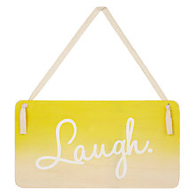 Buy Hanging Sign, Assorted Online at johnlewis.com
