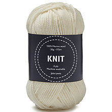 Buy John Lewis Merino Wool 4 Ply Yarn Online at johnlewis.com