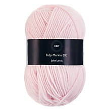 Buy John Lewis Baby Merino Wool DK Yarn, 50g Online at johnlewis.com
