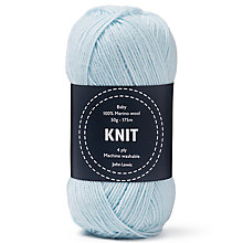 Buy John Lewis Baby Merino Wool 4 Ply Yarn, 50g Online at johnlewis.com