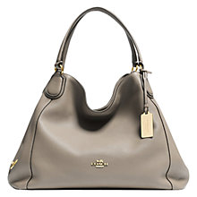 Buy Coach Edie Leather Shoulder Bag Online at johnlewis.com