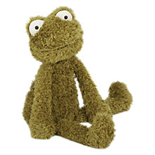 Buy Jellycat Wild Thing Frog Soft Toy, Green Online at johnlewis.com