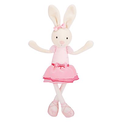 Jellycat Bitsy Ballerina Bunny Soft Toy, Cream/Pink