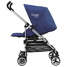 Buy BabyStyle Oyster Switch Pushchair, Navy Online at johnlewis.com