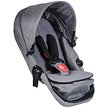 Buy Phil & Teds Voyager Pushchair Double Kit, Grey Marl Online at johnlewis.com