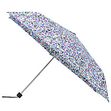 Buy John Lewis Superslim Floral Umbrella, Multi Online at johnlewis.com