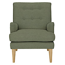 Buy John Lewis Gatsby Armchair, Quinn Blue Grey Online at johnlewis.com
