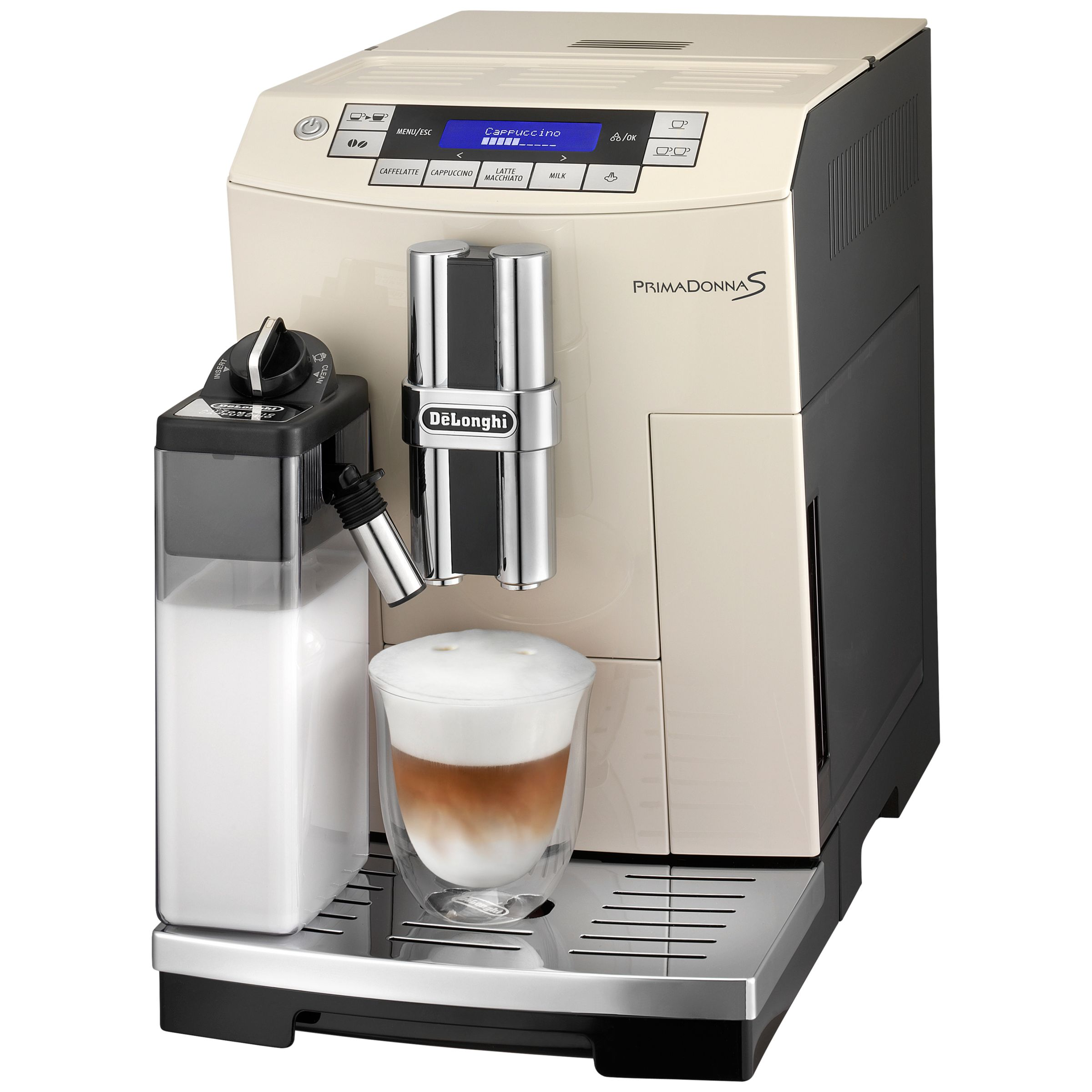 prima donna delonghi coffee machine