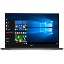 "Buy Dell XPS 15 Laptop, Intel Core i5, 8GB RAM, 1TB HDD + 32GB SSD, 15.6"" Full HD, Silver Online at johnlewis.com"