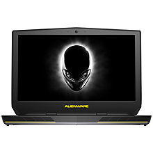 "Buy Alienware 15 R2 Laptop, Intel Core i7, 16GB RAM, 1TB HDD + 256GB SSD, 15.6"", Full HD, Epic Silver Online at johnlewis.com"