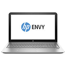 "Buy HP Envy 15-ae105na Laptop, Intel Core i7, 12GB RAM, 2TB, 15.6"", Full HD, Natural Silver Online at johnlewis.com"