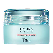 Buy Dior Hydra Life Jelly Sleeping Mask, 50ml Online at johnlewis.com