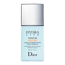 Buy Dior Hydra Life Water BB Moisturising Tinted Aqua-Gel Immediate Beauty SPF 30 - PA+++ Online at johnlewis.com