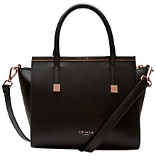 Buy Ted Baker Tabatha Crosshatch Leather Tote Online at johnlewis.com