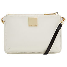 Buy Ted Baker Witney Leather Double Across Body Bag Online at johnlewis.com