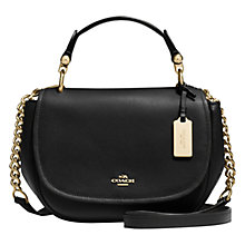 Buy Coach Nomad Leather Satchel Bag Online at johnlewis.com