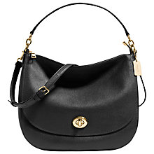Buy Coach Turnlock Leather Hobo Bag Online at johnlewis.com