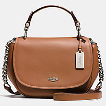 Buy Coach Nomad Leather Satchel Bag, Tan Online at johnlewis.com