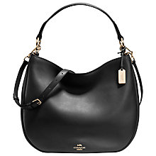 Buy Coach Nomad Leather Hobo Bag Online at johnlewis.com