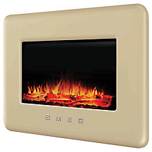 Buy Smeg 50's Retro Style Wall-Mounted Electric Fire Online at johnlewis.com