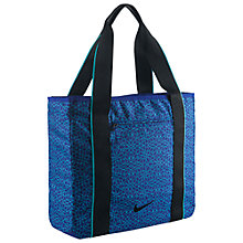 Buy Nike Legend Track Tote Bag, Blue Online at johnlewis.com