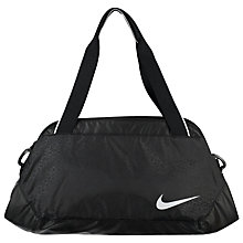 Buy Nike Legend Club Duffel Bag, Medium, Black Online at johnlewis.com