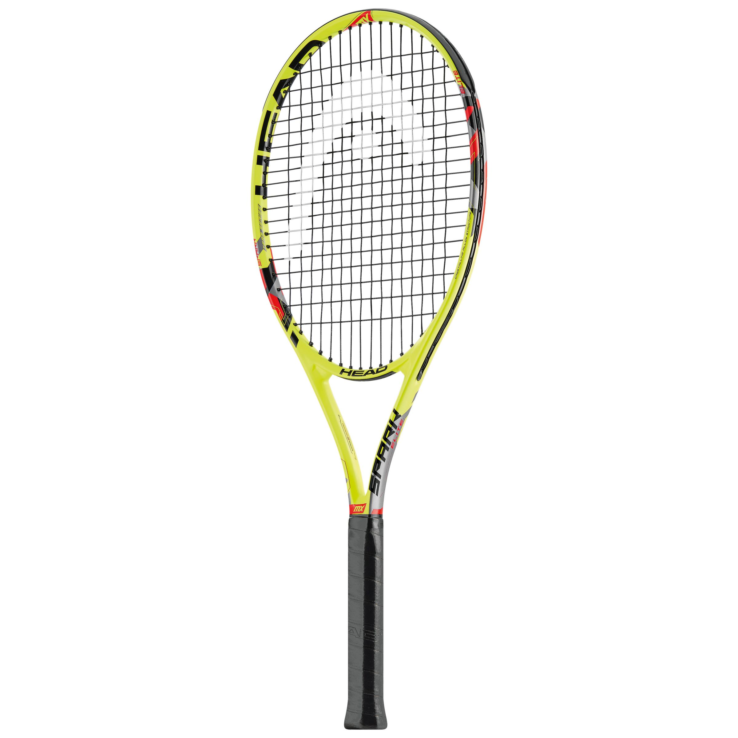 Head Head Spark Elite Aluminium Composite Tennis Racket, Yellow