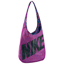 Buy Nike Reversible Tote Bag, Purple/Blue Online at johnlewis.com