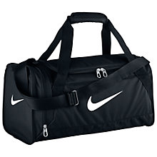 Buy Nike Brasilia 6 Duffel Bag, Extra Small Online at johnlewis.com